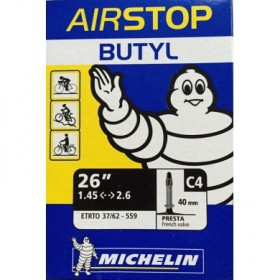 "CAMERA D'ARIA AIRSTOP BUTYL C4 26"" 1.45/2.6 - MICHELIN"