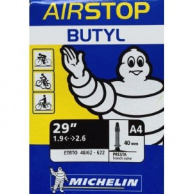 "CAMERA D'ARIA AIRSTOP BUTYL A4 29"" 1.9/2.6C - MICHELIN"