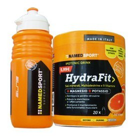 SALI MINERALI HYDRAFIT 400 g + BORRACCIA ELITE - NAMED