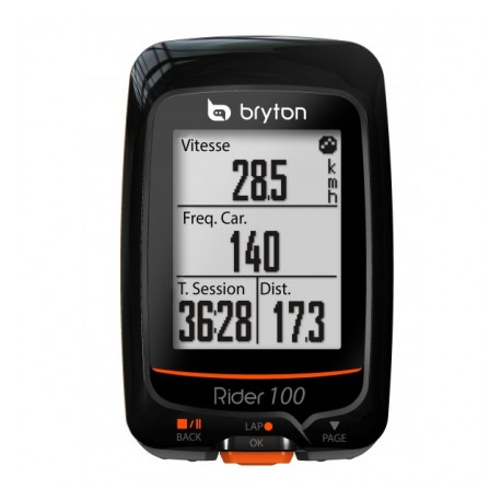 CICLOCOMPUTER GPS RIDER 100T BRYTON