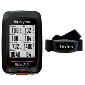 CICLOCOMPUTER GPS RIDER 310H + HRM BRYTON