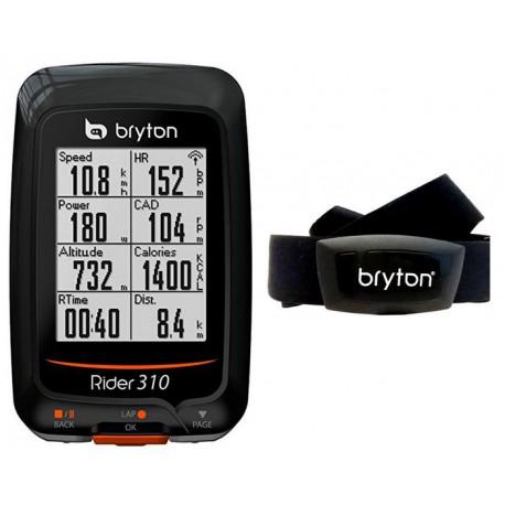CICLOCOMPUTER GPS RIDER 310H BRYTON