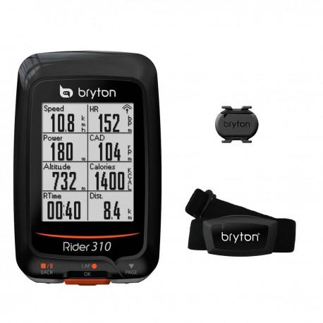 CICLOCOMPUTER GPS RIDER 310 + CAD + HRM BRYTON