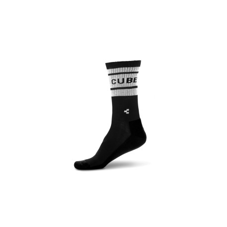 CUBE CALZE AFTER RACE BLACK'N'WHITE (2019) Cod. 11844