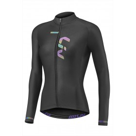 LIV RACE DAY MID-THERMAL LS JERSEY - BLACK